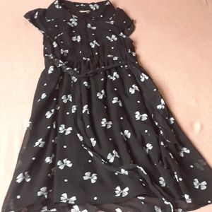"Black "" Minnie Mouse""  inspired dress"